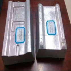 منجمات ألومنيوم بنسبة 99,995% زينك معدني منجكة من الألومنيوم في مصنع الصين