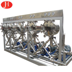 감자 전분 우유 탈수소화기 식물 하이드로 싸이클론 전분 슬러리 물 필터 섬유 분리기 장비