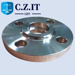تشكيل شفة مقبس A105 من الفولاذ الكربوني المطروق بوزن 150 رطلاً