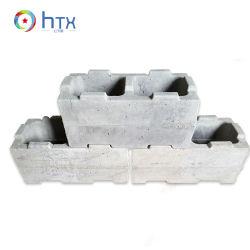 Quénia Showroom Blocos ocos do intertravamento de moldes de plástico de bloco de concreto