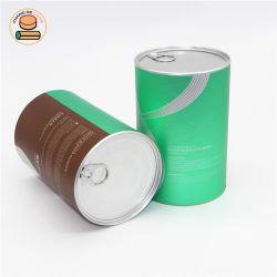 يتيح مفتوحة قصدير غطاء طعام يستطيع ورقة مستديرة يعبّئ لأنّ شاي/[وأتمل]