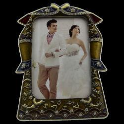 Бесплатные образцы пользовательских недавно супружеской пары красивых металлическая рамка для фотографий (014)
