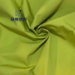 Py2003高品質100%年のポリエステルは防水75D販売の準備ができた商品のコートのジャケットのためのPA/PUのコーティングが付いている模造メモリファブリックを嘆く