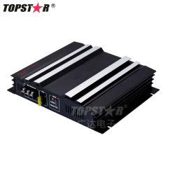 3800 와트 2 채널 12V 차 오디오 전력 증폭기 AMP 알루미늄 합금 검정
