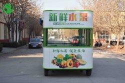Мороженое киоск по продаже продуктов питания солнечной энергии на микро автобусе быстрого питания пневматической тележки