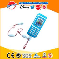 イヤホーンの子供の昇進のおもちゃが付いている普及したデザイン携帯電話