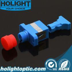 Sc FC zum hybriden einzelner Modus-fiberoptischen Simplexplastikadapter