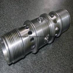 Usinagem CNC transformaram o alumínio / Aço inoxidável o corpo da válvula para motor Uav