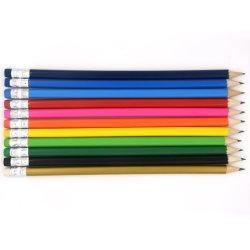 """싸나 좋았던 원형 7.5 """" 판매해서 흑연 Hb 연필은 착색한 Earser 일치를 가진 바디를 착색했다"""