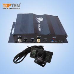Sistema de GPS Rastreamento de frotas de veículos com Auto trancar/destrancar a porta do carro, câmera de rastreamento&Alarme de perda de combustível (TK510-JU)