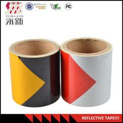 Verkoop goed het Nieuwe Weerspiegelende Materiaal van de Plastic Film van het Type Retro-Reflective