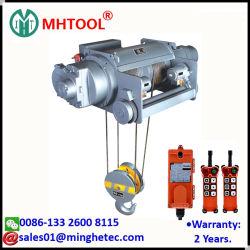 مرفاع الحبل السلكي الكهربائي Mhtool 10T لرافعة عارضة القضبان المزدوجة