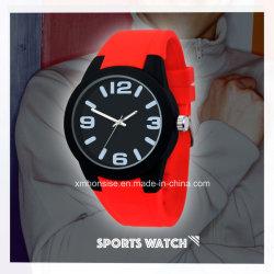 Nouvelle arrivée luxe décontracté Fashion Silicone Watch pour hommes