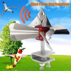 360° Bird Repeller Scarer Energia Eólica Staliness Ferramenta de aço Pigeon Crow efeito dissuasor Piscina