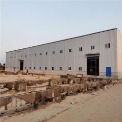 La lumière de la construction préfabriquée moderne de la structure du châssis en acier de construction de matériel d'entrepôt