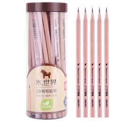 Legno naturale amichevole di Eco nessun marchio della matita dell'HB della vernice 2b 2h promozionale