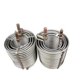 Echangeur de chaleur liquide Chaudière à air de recirculation