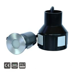Mini 3W à LED IP67 Outdoor étage souterrain Spot Light