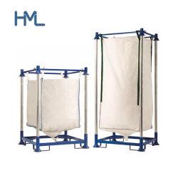 Comercial de alta calidad de metal de hierro Big Bag Manurack doble estantería