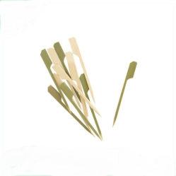 Varas de bambu descartáveis para frutas
