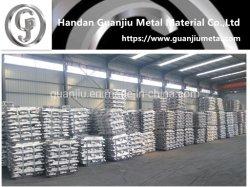 Lingote de alumínio 99.7/99.85/99,9 e ADC 12