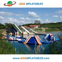 激賞水トランポリン開放水域のための膨脹可能な水楽しみ公園