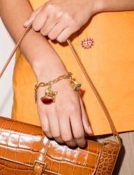 Nouveau mode de haute qualité des bijoux Gold-Plated Bracelet à breloque coeur en laiton