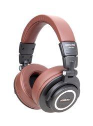 سماعات رأس استريو قابلة للطي تصميم سماعات رأس كمبيوتر لتسجيل DJ مع سائق HiFi 50 مم