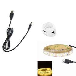 L'éclairage automatique chaud USB vendre sous le lit capteur PIR Night Light LED Bandes du capteur de mouvement numérique