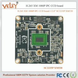 "H. 265 Xm 1080P IP-камера CCD плата 1/2.8"" SC2235p Xm530"