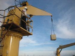 Quai de la rampe raide Davit Cargo flexible pour la vente de grue