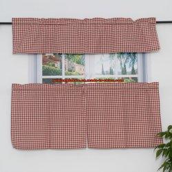 Высокое качество кухни из жаккардовой ткани шторки для гостиной кухня, полиэстер/хлопчатобумажной ткани