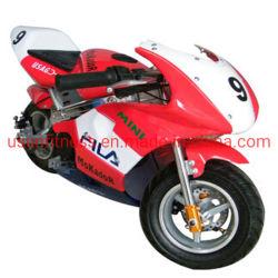 49のCcの小型のバイクは大人および子供のための小型バイクのガスのオートバイのポケットバイクをからかう