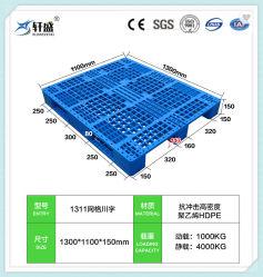 1100*1100, 1200*800, 1200*1000, 1200*1200, pallet di plastica durevole di rinforzo tubo d'acciaio 1300*1100