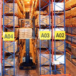 倉庫の記憶のための産業選択的なVnaパレットラッキング