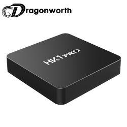 HK1プロS905X2 4G 64G人間の特徴をもつTVボックス完全なHD 4KビデオアンドロイドTVボックスアンドロイド8.1 TVボックス完全なHDサテライトレシーバ