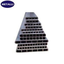 Fluxo paralelo de microcanais alumínio tubo plana