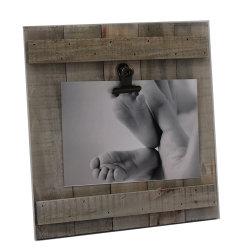 Artesanía de madera Decoración de pared de madera de marco de fotos, firmar el marco de fotos, marco de la placa de madera, el marco de fotos, Picture Frame, la decoración del hogar el marco de fotos, en la pared del bastidor ganchos