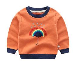 De Lange Kokers van de T-shirt van de Kinderen van de peuter de Kleding van de Zuigeling