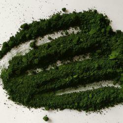 [كروميوم وإكسيد] اللون الأخضر لأنّ صبغ 99%