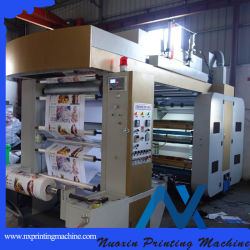 130m/min Type de pile 4 Couleur Machine d'impression flexo PE PP OPP imprimante papier feuille d'Alun pet