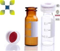 زجاجات دوبلر تلقائي زجاجية من نوع USP من النوع I بلون شفاف/كهرماني