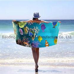 80X160cm 70X140cm Beach Velvet Promoção Custom toalha de microfibras de Vapor