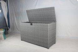 Duurzame PE Rattan weefgetouwen Beslagdoos Outdoor meubilair met Waterdichte stof