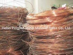 Los restos de chatarra de cobre de alambre de cobre del 99,9% del peso de la pesca de tungsteno de alambre de cobre