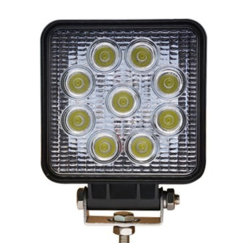 27W LED Work Light voor Car en Truck Working LED Working Light 27W Spot Flood Beam Work Light Square