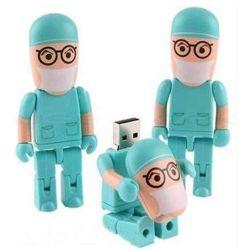 Мультфильм доктор Пластиковые формы медсестры флэш-накопителя USB/USB Pen Drive/диск USB/USB Memory Stick™