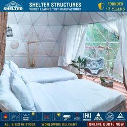 2-5 Peopleoutdoor Water-Proof геодезических купол палатки для рекламы
