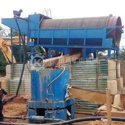 La criba de tambor de la planta de lavado de mineral utilizado