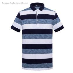 [بولو شيرت] [كسول ستل] شريط قميص رجال ثني سترة قصيرة كم [ت] قميص